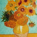 the sunflowers vanghog