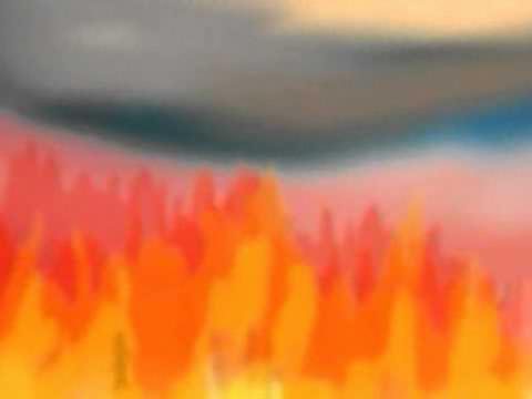 deserto di fiamme